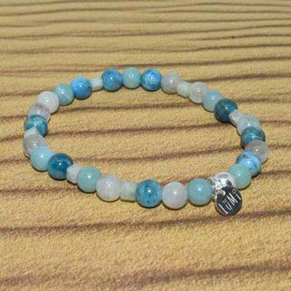 bracelet chakra de la gorge lumi