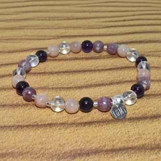 bracelet chakra coronal lumi