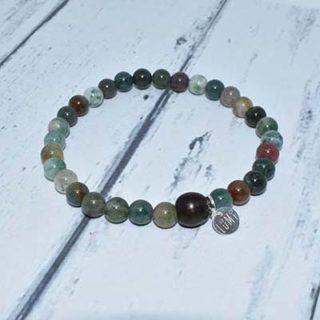 bracelet homme pierres semi précieuses