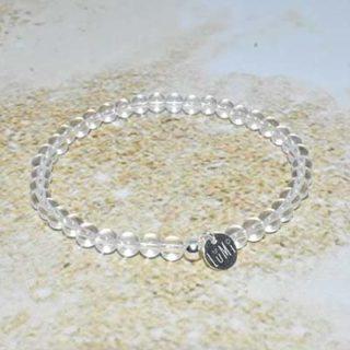 cristal de roche bracelet lumi