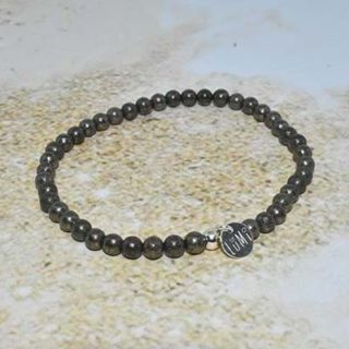 pyrite de fer bijoux lumi