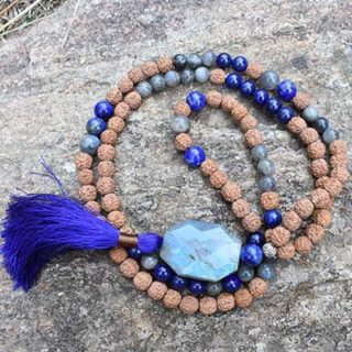 labradorite lapis lazuli mala lumi