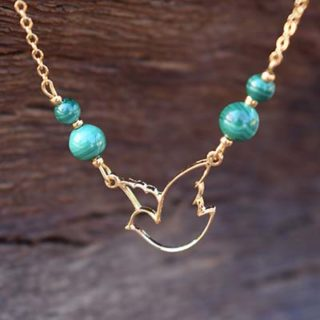 MALACHITE COLLIER