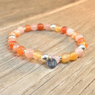 bracelet en pierres naturelles cancer signe astro