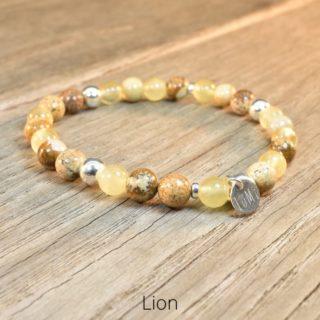 bracelet signe astro lion lumi