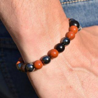 bracelet pierres bélier homme