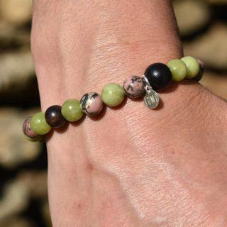 bracelet taureau homme zodiaque astro pierres