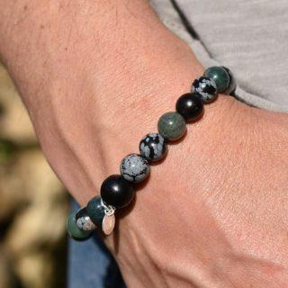 bracelet vierge homme lumi créations