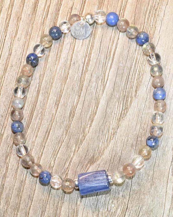 cyanite bracelet lumi créations