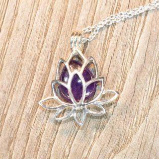 fleur de lotus pierres changeables