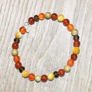 bracelet pierres naturelles golfe de saint tropez