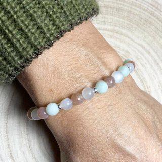 bracelet lumi saint tropez pierre de lune