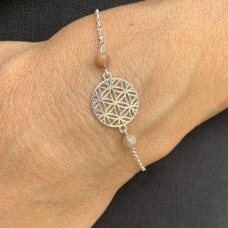 pierre lune soleil yin yang lumi fleur de vie