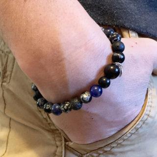 lacher prise bracelet homme