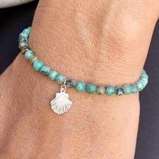 bracelet lumi creations turquoise saint tropez